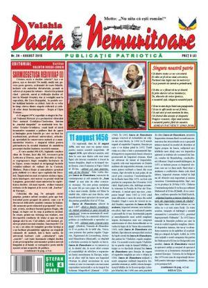 """Revista ,,Dacia nemuritoare"""", la al 24-lea număr"""