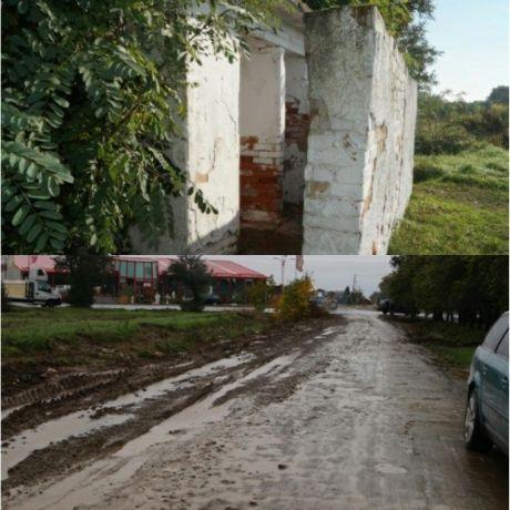 WC-urile pline de rahat, bălţile şi noroaiele de pe străzi dar şi aleile de la cimitirul careian deranjează. Nu atât de mult încât să fie luate măsuri