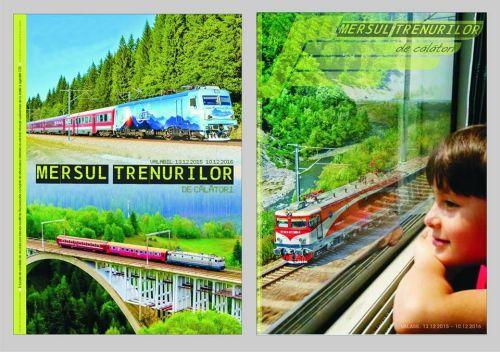 Din 13 decembrie intră în vigoare noul Mers al Trenurilor
