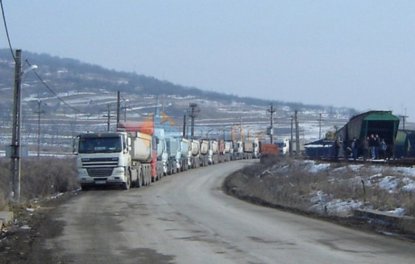 Protest la mina de sare