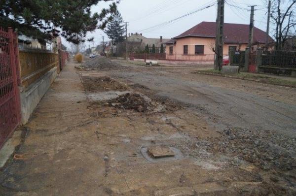 Lucrările de pe străzile Iorga şi Ecoului înainte cu 2 săptămâni de recepţia finală