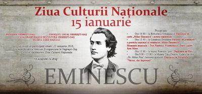 Manifestări dedicate lui Eminescu la bustul său din Negreşti Oaş