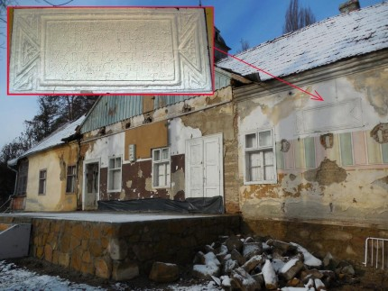 O placă de calcar din anul 213 descoperită în casa lui Iuliu Maniu