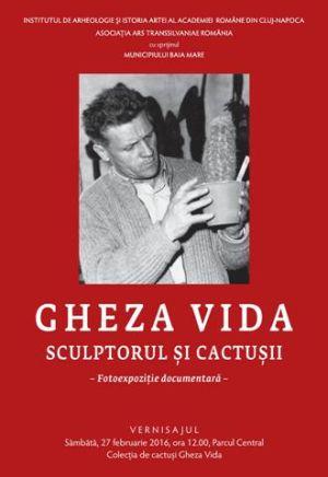 Evenimente culturale dedicate marelui sculptor român GHEZA VIDA la Baia Mare