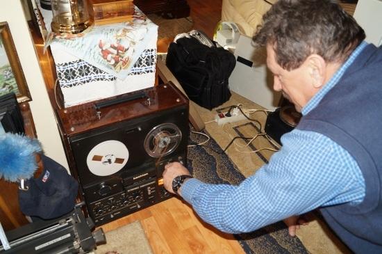 Un iubitor şi colecţionar de muzică bună, de magnetofoane, de maşini de scris….