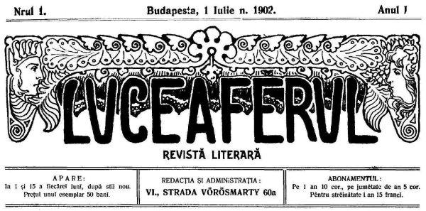 """Cum au constituit studenții români din Budapesta Revista """"Luceafărul"""""""