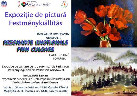 Expoziţie de pictură în scop caritabil