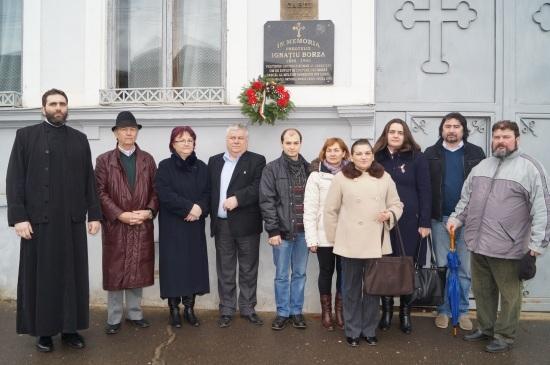 Comemorarea lui Ignatie Borza