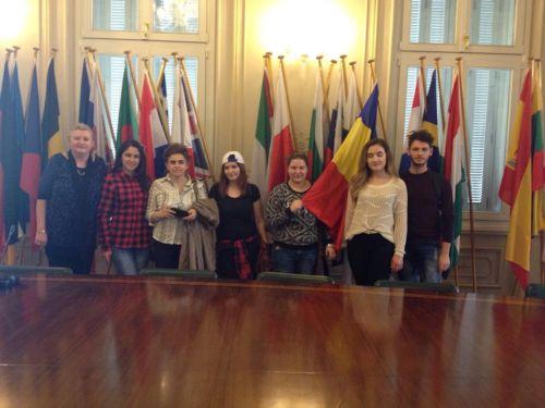 Elevii de la Teoretic au ajuns în Grecia cu un proiect Erasmus