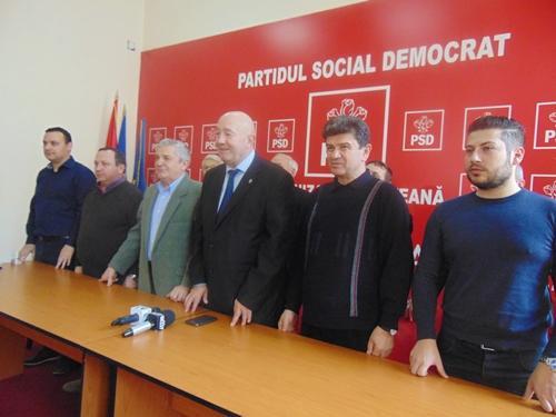 PSD a stabilit candidații pentru o parte din primăriile din județ