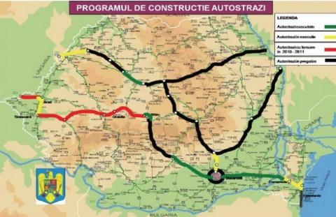 Se vor construi 2 autostrăzi în următorii doi  ani