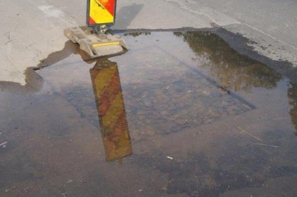 Alt izvor subteran apare pe bdul 25 Octombrie din Carei