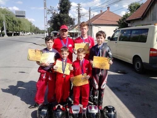 Karting:  Locul II pentru elevii lui Mille