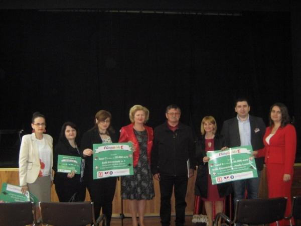 3 şcoli din Carei premiate de Kaufland