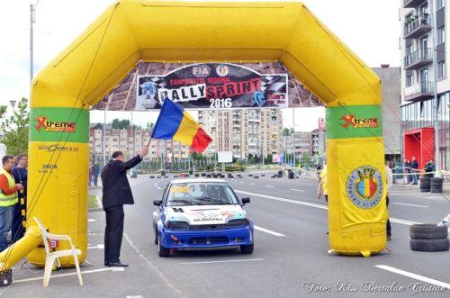 Rezultatele etapei a II-a a Campionatului Regional  de Rally Sprint