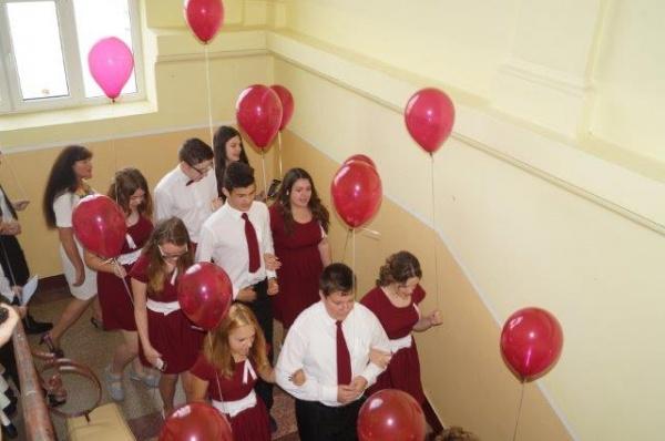 Promoţia 2016 a Şcolii Gimnaziale nr.1 Carei