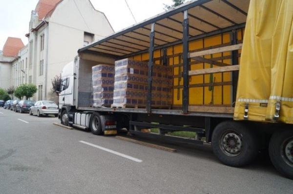 Ajutoarele alimentare de la UE se distribuie de luni 11 iulie