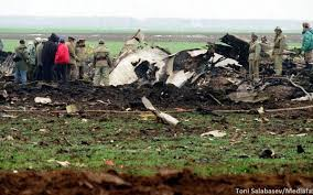 Accident de aviaţie civilă la Oţeloaia. Exerciţiu