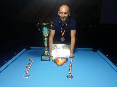 Lugojeanul Ladanyi Ioan a câştigat Cupa României la Biliard ediţia 2016 Carei