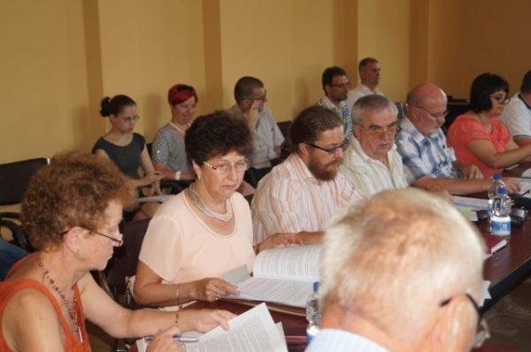 Demonstraţie de forţă a consilierilor UDMR Carei