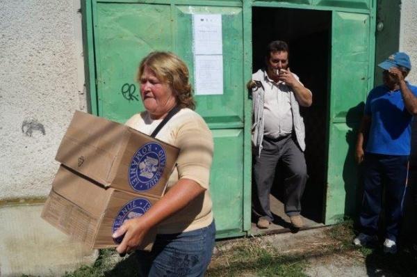 Tergiversări cu iz politic la împărţirea ajutoarelor UE alimentare de la Carei