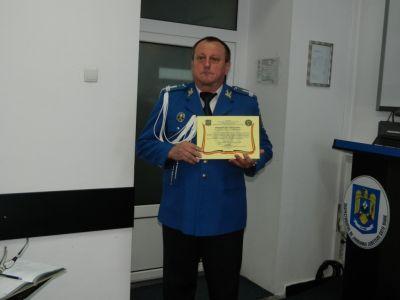 Locotenent colonelul Ioan ORHA s-a pensionat