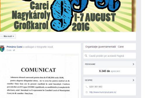 Buletin de Carei pune la treabă angajaţii responsabili cu comunicarea de la UAT Carei