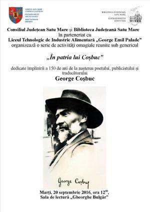 """""""În patria lui Coșbuc"""" la 150 de la nașterea poetului"""