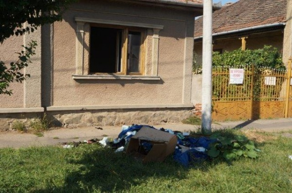 Un incendiu pe strada Mihai Viteazu