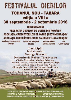 Invitație la Festivalul Oierilor