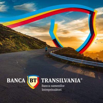 Banca Transilvania și-a schimbat sigla în culorile tricolorului românesc