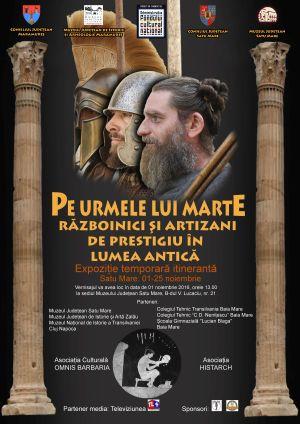 """""""Pe urmele lui Marte. Războinici şi artizani de prestigiu în lumea antică"""". Expoziție"""