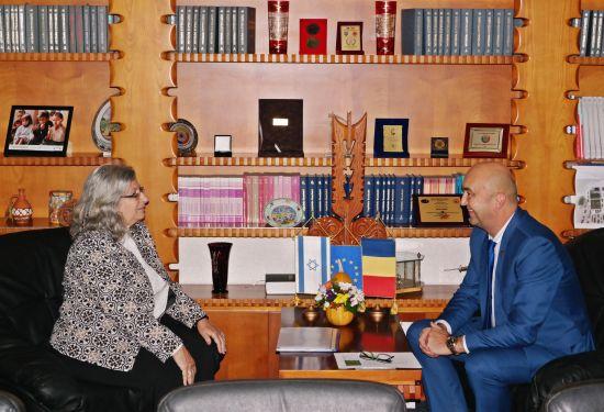 Vizita Ambasadoarei Israelului, Tamar Samash, în județul Satu Mare