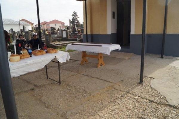 Aici se ține Slujba de Pomenire de la cimitir a creștinilor români din Carei