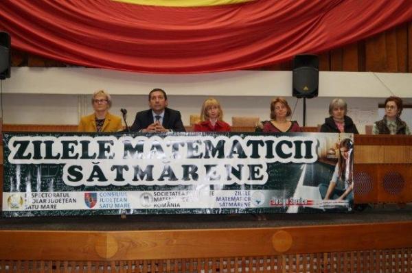 Au fost premiați matematicienii județului. Printre ei și elevi careieni
