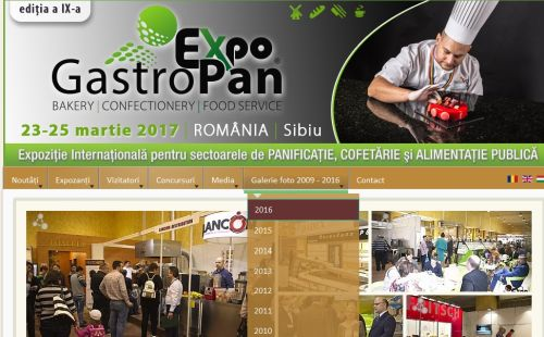 Înscrieri la a IX-a ediție a expoziției internaționale GastroPan
