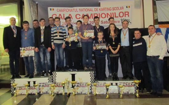 Gala Campionilor la karting şcolar