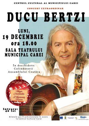 """Bilete pentru ultimele două concerte din cadrul Festivalului """"Magia Crăciunului"""" de la Carei"""