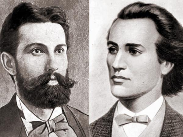 Mihai Eminescu și Nicolae Densușeanu-întâlnirea dintre  doi mari titani ai culturii românești