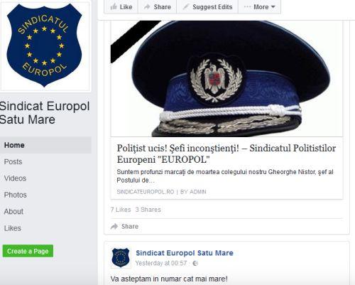 Reacţii în cazul poliţistului şef de post ucis la Vişeul de Jos
