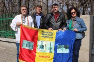 Omagiu la mormântul lui Constantin Brâncuși la 60 de ani de la moartea sa