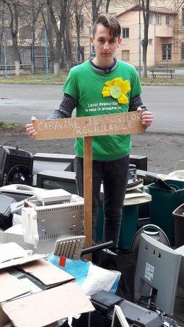 Caravana Deşeurilor Reciclabile la Carei