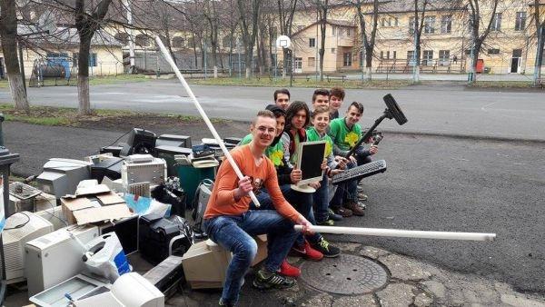 Colectare de deșeuri electrice în Carei