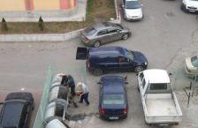 Copil aruncat la gunoi la Carei