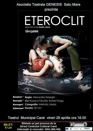 Spectacol de teatru-dans la Carei