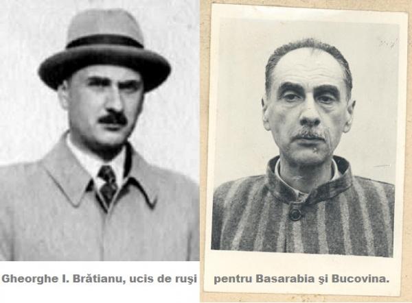 Gheorghe I.Brătianu moare în temniţa de la Sighet de ziua Sf. Mare Mucenic Gheorghe, martir pentru Basarabia şi Bucovina