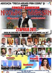 Regal folcloric la Satu Mare. Furdui-Iancu, Sava Negrean şi Ioan Bocşa vin la aniversarea  lui Nicolae Mureşan