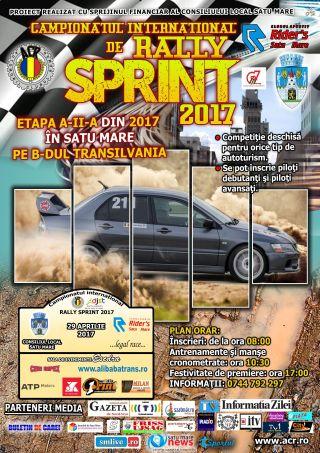 Sâmbătă avem Rally Sprint. A doua etapă din acest an