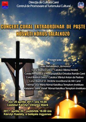 Concert religios dedicat Sărbătorilor Pascale