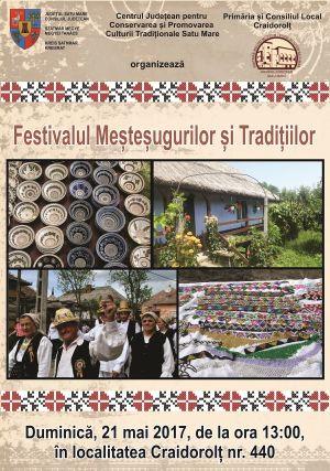 La Craidorolț va avea loc Festivalul Meșteșugurilor și Tradițiilor